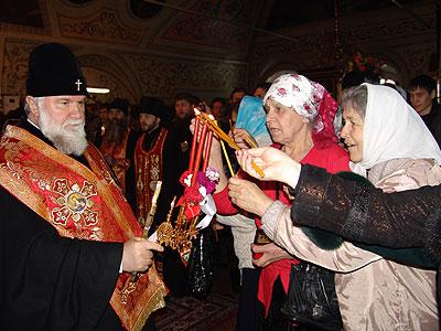 Благодатный Огонь в г. Иркутске