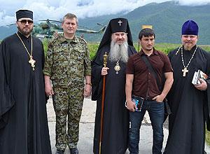 Освящение часовни во имя Святителя Иннокентия Иркутского в Чечне