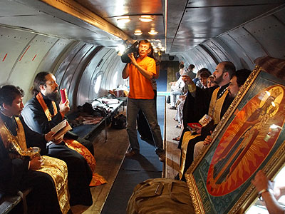 В день памяти пророка Илии над Иркутском прошел ставший уже традиционным крестный ход