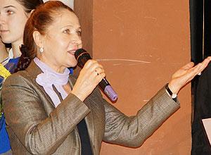 Председатель Иркутского отделения Российского Детского фонда С.В.Кулинич