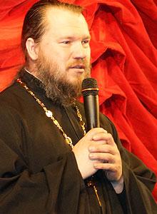 Протоиерей Евгений Прохоров, руководитель молодежного отдела Иркутской епархии