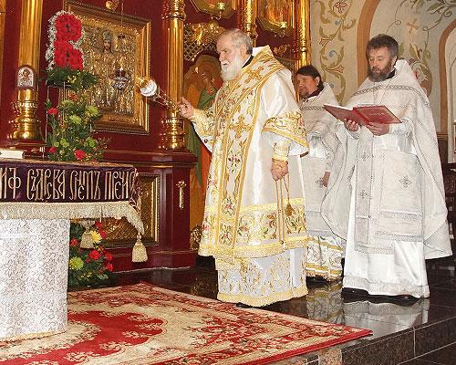 Пасхальное богослужение в Знаменском кафедральном соборе Иркутска height=400