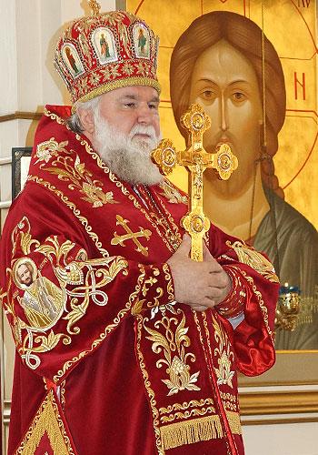 Обращение митрополита Иркутского и Ангарского Вадима перед молебном в защиту веры и поруганных святынь