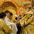 Архиерейское служение в соборе Богоявления 24.02.2013