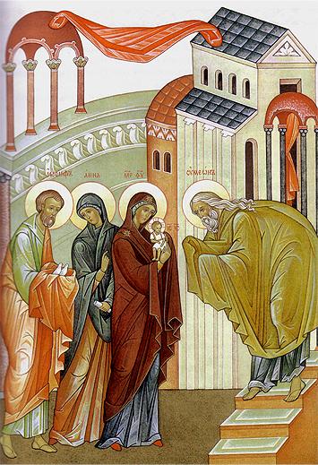 Сретение Господне. Проповедь митрополита Вадима