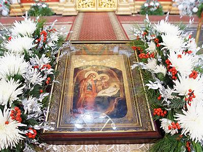 Поздравление митрополита Иркутского и Ангарского Вадима с Рождеством Христовым и новым 2015 годом